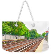 Brooklyn Subway Train Station 1 Weekender Tote Bag