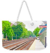 Brooklyn Subway Train Station 2 Weekender Tote Bag