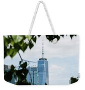 Brooklyn View Of One World Trade Center  Weekender Tote Bag
