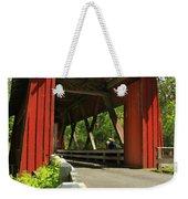 Brookwood Covered Bridge Weekender Tote Bag