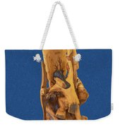 Brother 2, Carved Out Of A Dead Tree By Scott Alan Malinsky In Twin Lakes, Colorado  Weekender Tote Bag