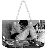 Brother Can You Spare A Dime Weekender Tote Bag