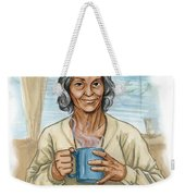 Brother Wolf - Grandmother Issi Weekender Tote Bag by Brandy Woods