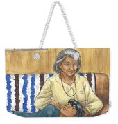 Brother Wolf - Grandmother's Lap Weekender Tote Bag