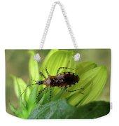 Brown Insect Weekender Tote Bag