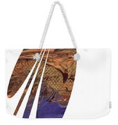 Brown Butterfly Weekender Tote Bag