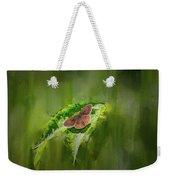 Brown Butterfly #h6 Weekender Tote Bag by Leif Sohlman