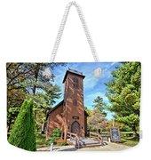 Brown Church Autumn 2 Weekender Tote Bag