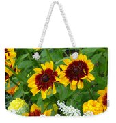 Brown Eyed Susans Weekender Tote Bag