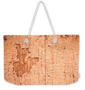 Brown Paint Texture Weekender Tote Bag