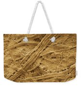 Brown Paper Towel Weekender Tote Bag