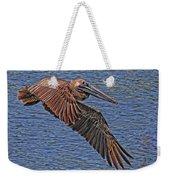 Brown Pelican Flyby Weekender Tote Bag