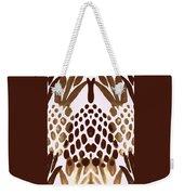 Brown Pineapple Weekender Tote Bag