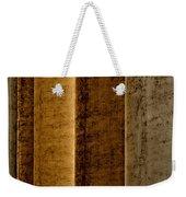 Brown Silos Weekender Tote Bag