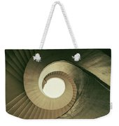 Brown Spiral Stairs Weekender Tote Bag