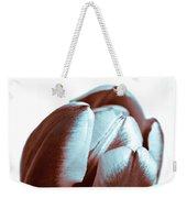 Brown Tulip Weekender Tote Bag