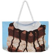Brownie Ice Cream Sandwich Weekender Tote Bag