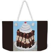 Brownie Ice Cream Sandwich Weekender Tote Bag