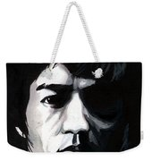 Bruce Lee Portrait Weekender Tote Bag