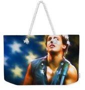 Bruce Springsteen Americana Weekender Tote Bag