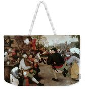 Bruegel, Peasant Dance Weekender Tote Bag