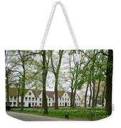 Bruges Begijnhof 1 Weekender Tote Bag