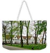 Bruges Begijnhof 2 Weekender Tote Bag