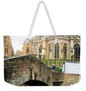 Bruges Bridge 4 Weekender Tote Bag
