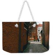 Bruges Orange Street Weekender Tote Bag