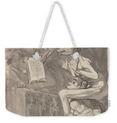 Brujas ? Volar (witches Preparing To Fly) [verso] Weekender Tote Bag