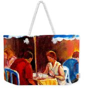 Brunch At The Ritz Weekender Tote Bag