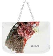 Bruno The Ko Shamo Rooster Weekender Tote Bag