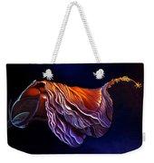 Brused Hibiscus Weekender Tote Bag