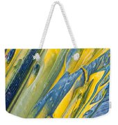 Brush Stroke Detail 8066 Weekender Tote Bag
