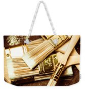 Brushes Of Interior Decoration Weekender Tote Bag