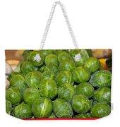 Brussel Sprouts Weekender Tote Bag