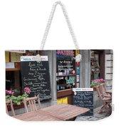 Brussels - Restaurant Chez Patrick Weekender Tote Bag