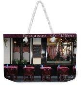 Brussels - Restaurant La Villette Weekender Tote Bag by Carol Groenen