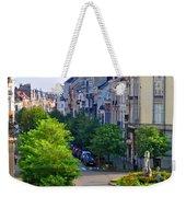 Brussels Row Weekender Tote Bag