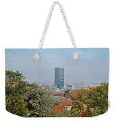 Brussels View Weekender Tote Bag