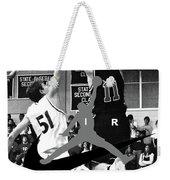 Bryan Nelson Goes Michael Air Jordan, A Shawnee Mission East High School Legend Weekender Tote Bag