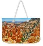 Bryce Canyon Fairyland Vista Weekender Tote Bag
