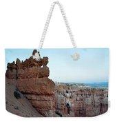 Bryce Canyon Navajo Loop Trail Window Weekender Tote Bag