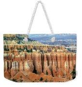 Bryce Canyon Vertical Hoodoos Weekender Tote Bag