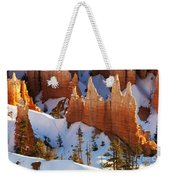 Bryce Canyon Winter 3 Weekender Tote Bag