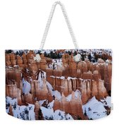 Bryce Canyon Winter 9 Weekender Tote Bag