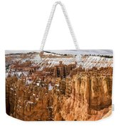 Bryce Canyon Winter Panorama - Bryce Canyon National Park - Utah Weekender Tote Bag