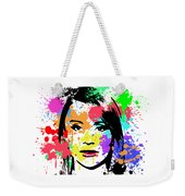 Bryce Dallas Howard Pop Art Weekender Tote Bag