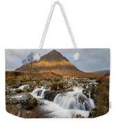 Buachaille Etive Waterfalls Weekender Tote Bag