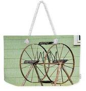 Bubbas  Fairs Wheel Weekender Tote Bag